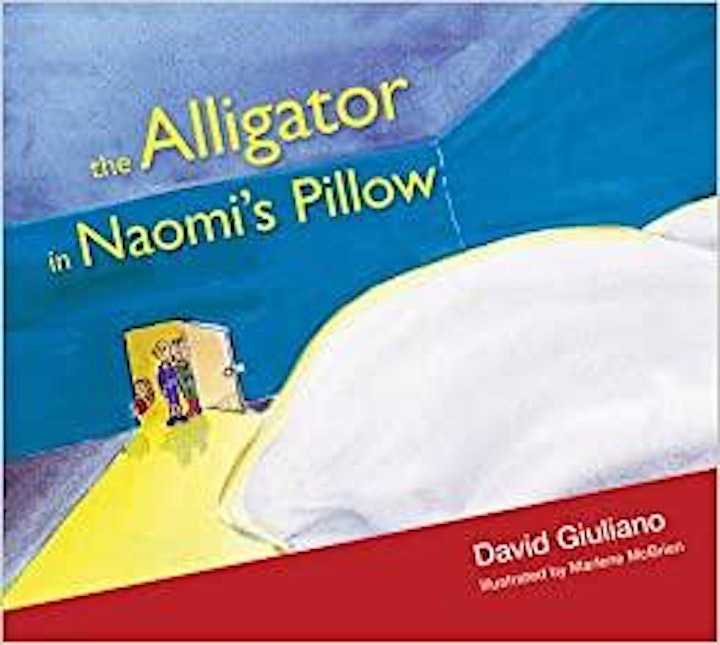 I Read Canadian Event - The Alligator in Naomi's Pillow with David Giuliano image