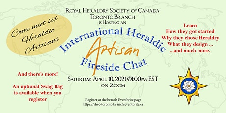 International Heraldic Artisan Fireside Chat tickets