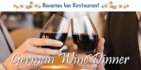 German Wine Dinner tickets