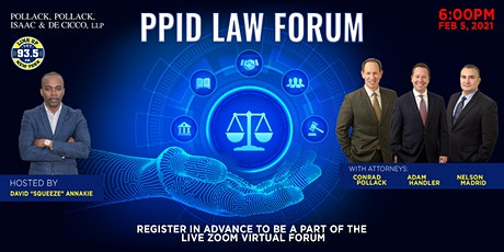 PPID Virtual Law Forum tickets