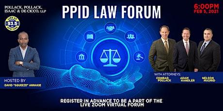 PPID Virtual Law Forum tickets