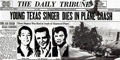 The Day the Music Died: Buddy Holly, Ritchie Valens and The Big Bopper tickets