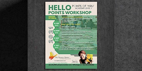 15 May 2021- Points Of You®️ Academy Level 1 by Jennifer Lim (Singapore) tickets