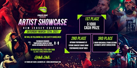 Concert Crave Artist Showcase - NEW JERSEY 3.13.21 tickets