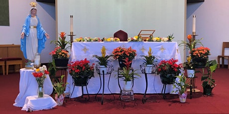Communion Service Sun,  Jan 31, 2021 @ 3pm-4:45pm,  8 persons max in Church tickets