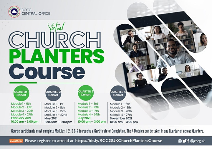 Church Planters' Course(Modules1-4) image