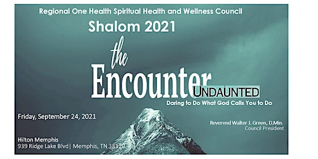 Shalom 2021 - The Encounter Undaunted! tickets