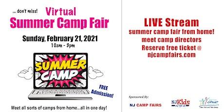 NJ Virtual Camp Fair tickets