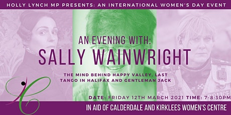 An Evening With: Sally Wainwright tickets