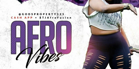 """AFROBEATS WITH """"T"""": IN PERSON & ON-LINE CLASS tickets"""