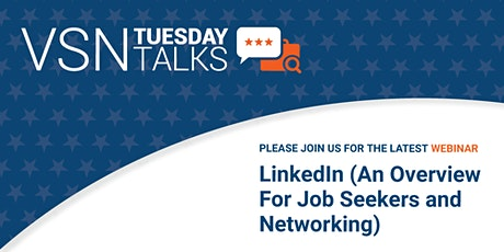 VSN Tuesday Talks - LinkedIn Overview tickets