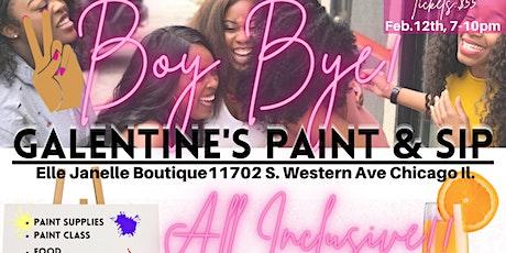 Boy Bye Galantine's Paint & Sip tickets