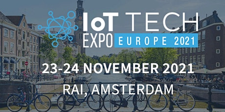 IoT Tech Expo Europe 2021 tickets