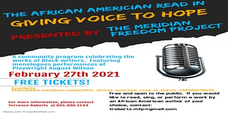 2021 African  American Read In tickets