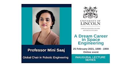 Inaugural Lecture: Professor Mini Saaj tickets