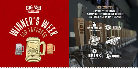 US Open Beer Championship Winner's Week at Big Ash Brewing tickets