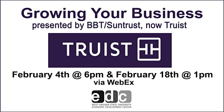 Growing Your Business w/BB&T (now Truist) tickets