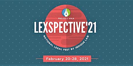 Lexspective '21 entradas