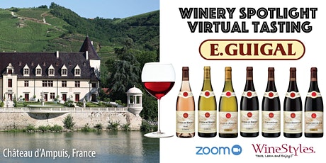 E. Guigal Virtual Wine Tasting tickets