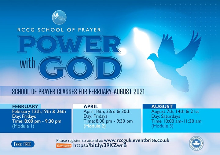 SCHOOL OF PRAYER CLASSES (MODULE 1) image