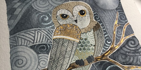 Zentangle® Meets Watercolor - Night Owl tickets
