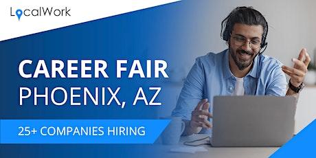 Phoenix Job Fair - March 2021 - VIRTUAL CAREER FAIR tickets