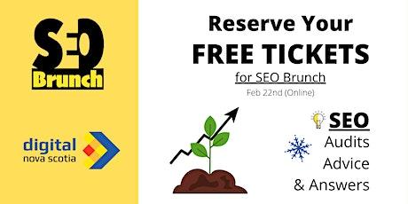 SEO Brunch (Feb 22nd) tickets