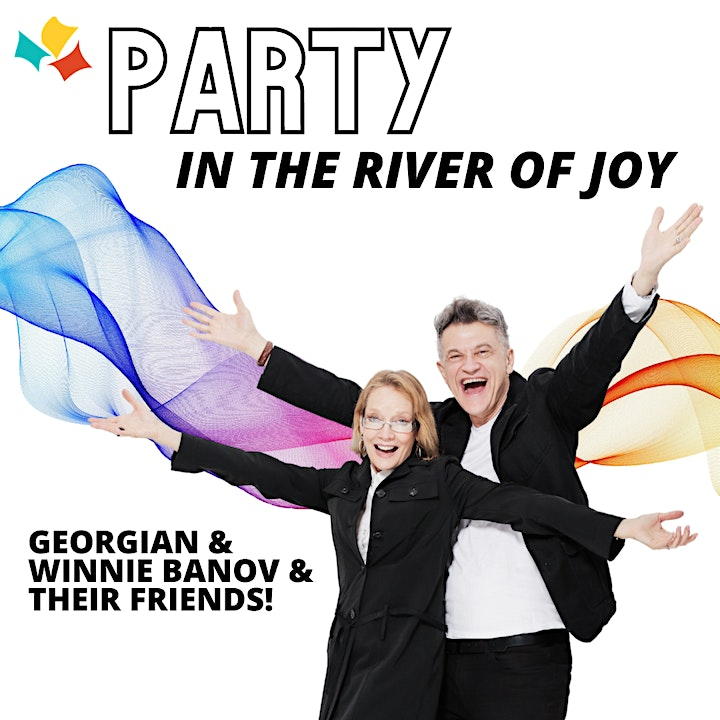 Jump in the River of Joy with Georgian and Winnie Banov and friends! image