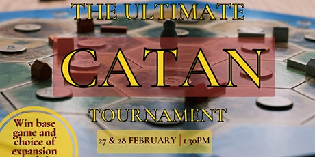 The Ultimate Catan Tournament tickets