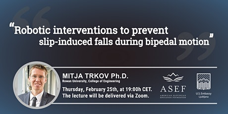 Mitja Trkov, Ph.D.: How can robots prevent us from falling over? tickets
