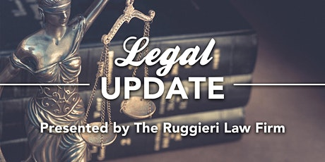 Monthly Meeting: Luncheon - Legal Update CEU tickets