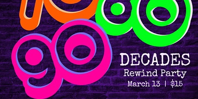 (Indoors + Distanced!) DECADES Rewind Party - 70's, 80's, and 90's w/ DJ D