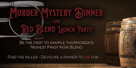 Red Bled Launch - Murder Mystery Dinner tickets