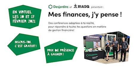Atelier virtuel – Mes finances, j'y pense! – Québec tickets