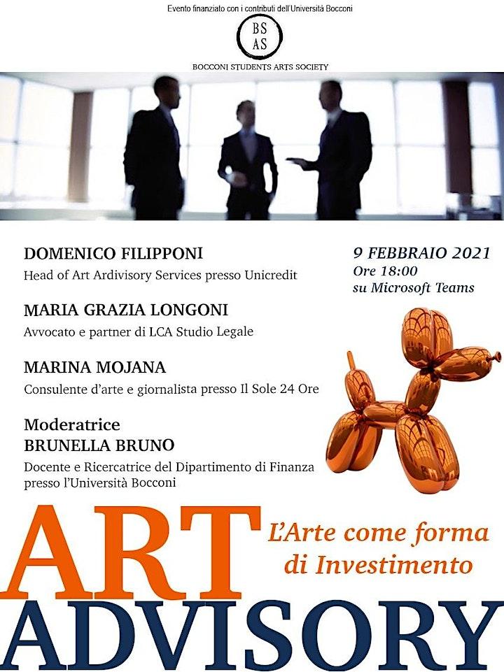 Immagine Art Advisory: l'Arte come forma di Investimento