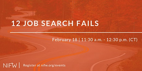 12 Job Search Fails // February 18 tickets