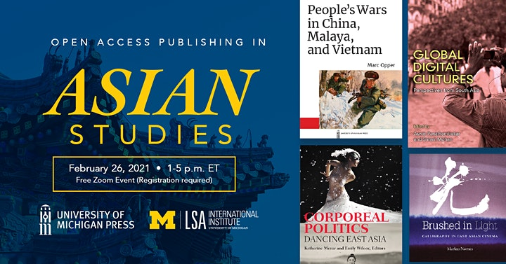 Open Access Publishing in Asian Studies_02/26/2021 image