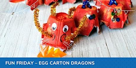 Fun Friday - Egg Carton Dragons tickets