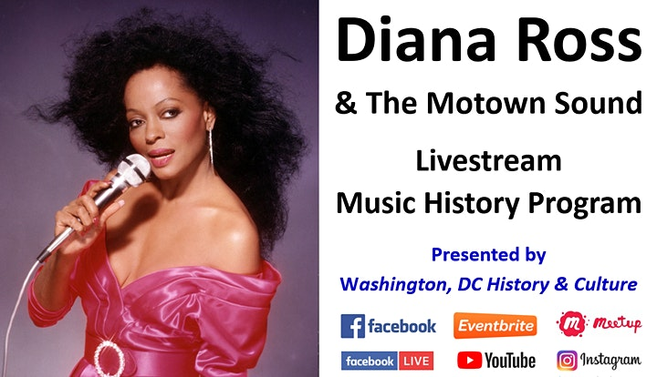 Diana Ross and The Motown Sound - Music History Program (March 20 - PM) image