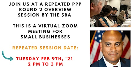New Session : SBA Briefings on the Paycheck Protection Program Relaunch tickets
