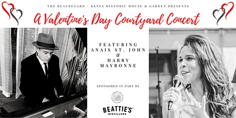 Valentine's Day Courtyard Concert featuring Anais St. John & Harry Mayronne tickets