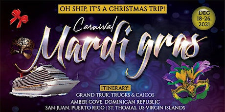 GTG Virtual Mardi Gras at Sea tickets