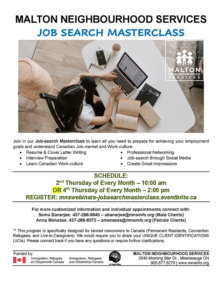 Employment Webinar: Job-search Masterclass image