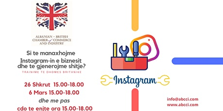 Manaxhimi i Instagram per biznesin tuaj. tickets