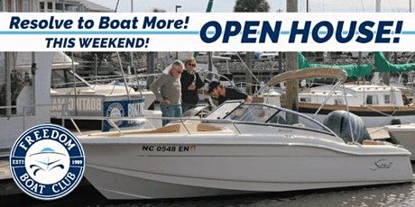 Freedom Boat Club Wilmington   Boat Show Sale! tickets