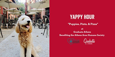 """Yappy Hour """"Puppies, Pints, & Pizza"""" tickets"""