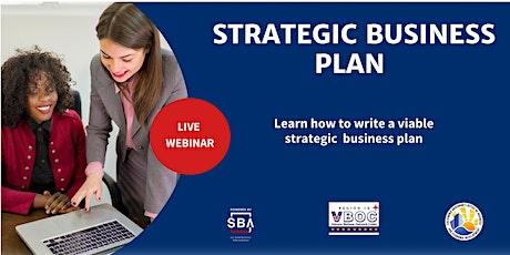 Strategic Business Plan biglietti