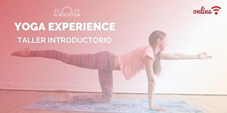 YOGA EXPERIENCE: Profesorado de Yoga, un cambio de vida entradas