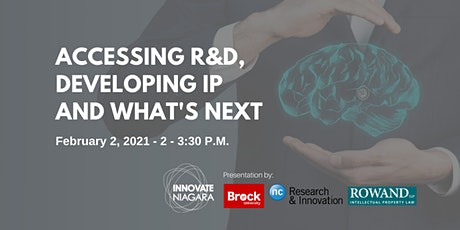 Accessing R&D, Developing IP and What's Next tickets