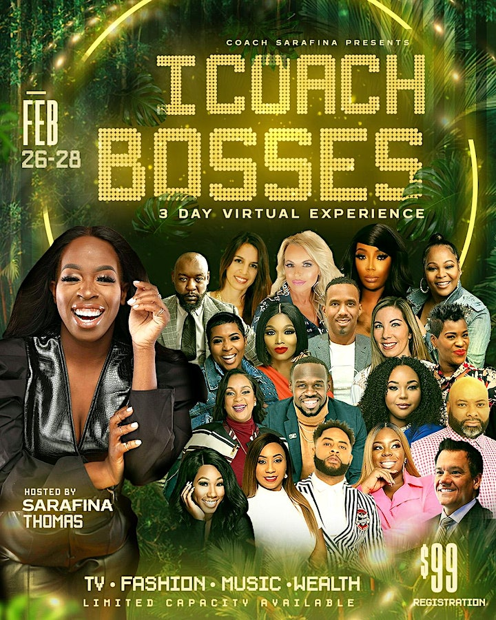 I Coach Bosses: 3 Day Virtual Experience image